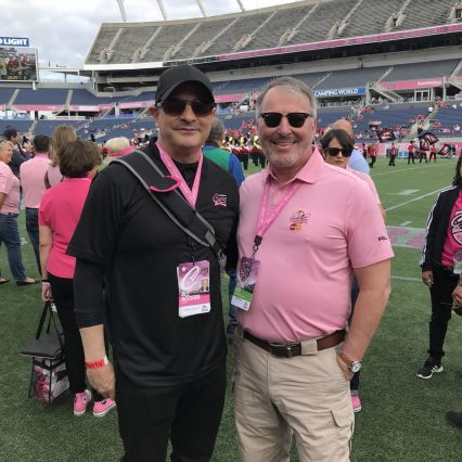 George Lamelza and Mayor Buddy Dyer